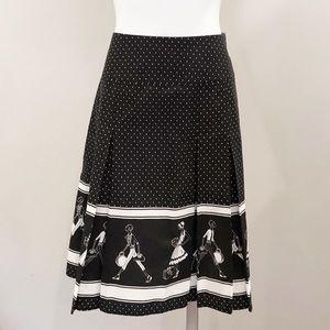 NWT Liz Claiborne Pleated Skirt, Sz 14 Petite
